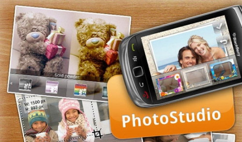Photo Studio v1.0 apps for blackberry phone(os5.0-7.0)