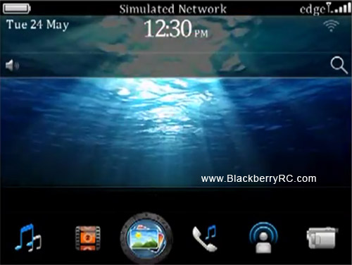 Underwater HD 3D theme