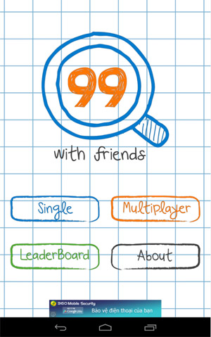 99 With Friends for blackberry 10 games