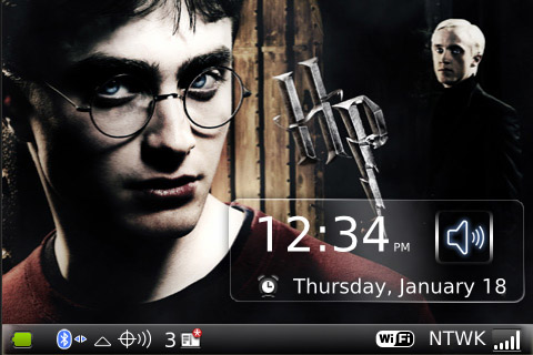 Harry Potter 7 for 9000 os5 themes