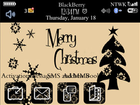Classy Chic Christmas for 8900,9000 themes