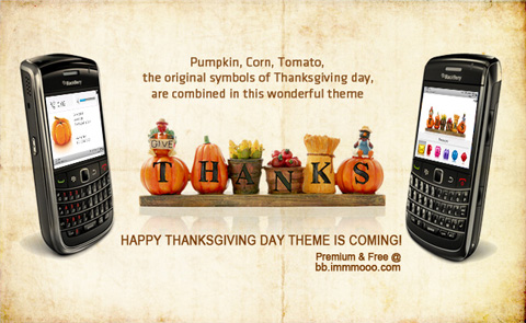 Happy Thanksgiving day for bb 9xxx themes os5.0