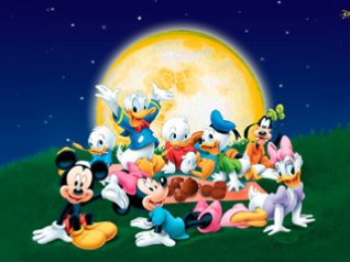 Disney Mickey Mouse cartoon wallpaper
