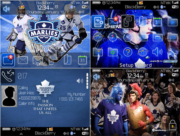 free Toronto Maple Leafs for 8900 themes