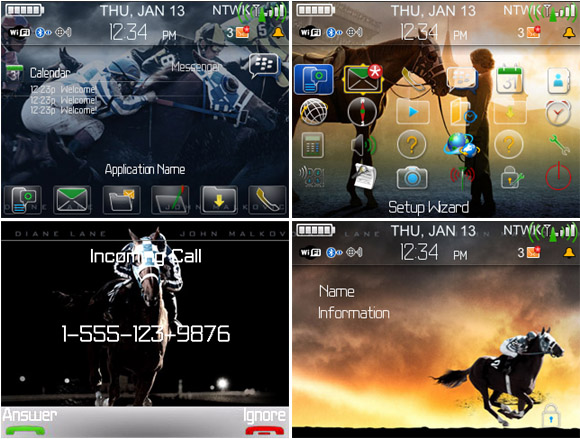 Secretariat for blackberry curve themes