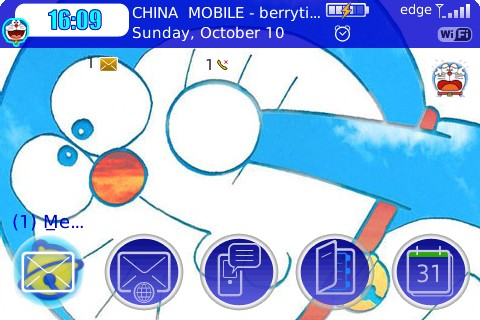 free Doraemon for 8900,96xx,8520,9700,9000 themes