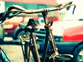 LOMO - Rusty Bike