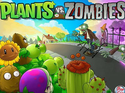 Plants vs. Zombies for sms ringtones