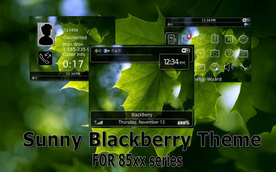 themes for bb 8520 Compatible Devices : Model: Blackberry 8500, 8520