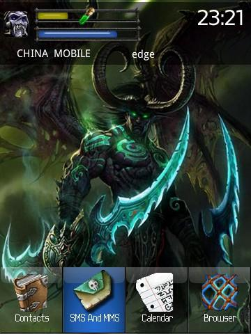 wow - war3 for blackberry storm themes