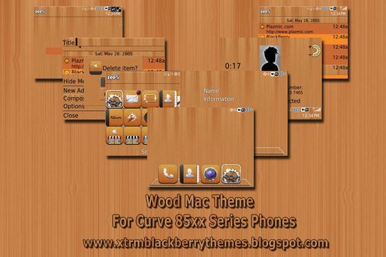 Mac Wood for Curve 85xx Themes