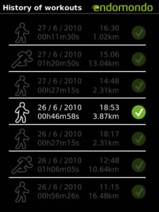<b>Endomondo Sports Tracker</b>