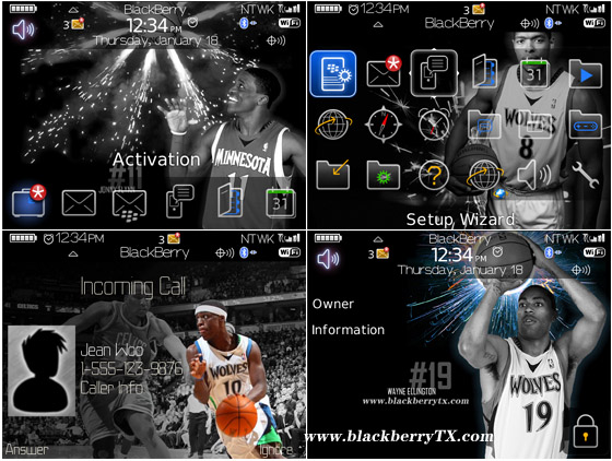 Minnesota Timberwolves 89,96,97 themes