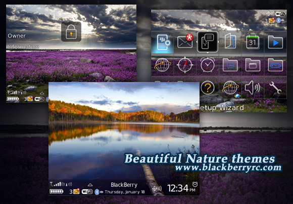 Beautiful Nature themes os5.0