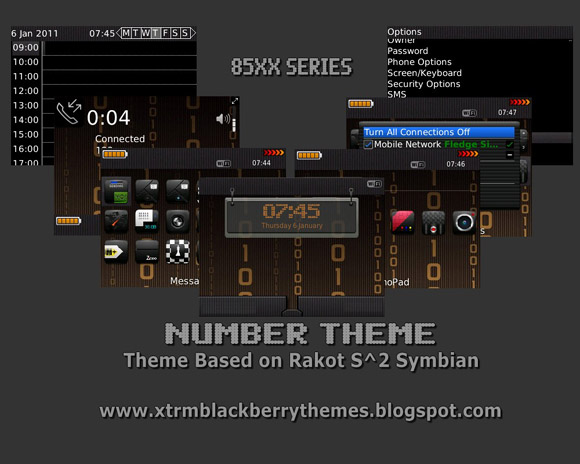 <b>Numbers 85xx Themes</b>