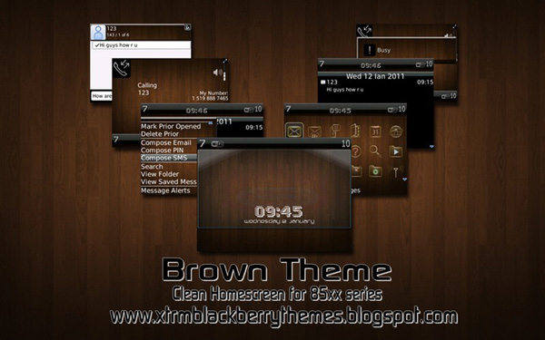 Brown Clean for bb 85xx Themes
