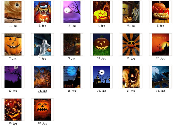 <b>Halloween 360x480 blackberry wallpapers pack</b>