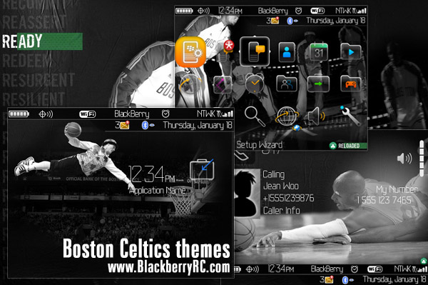 Boston Celtics themes os4.6.1