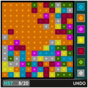Color Virus for 8900 curve games