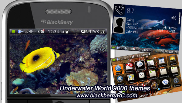 Underwater World for 9000 themes os5