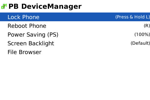 PB Devicemanager v 2.0.2