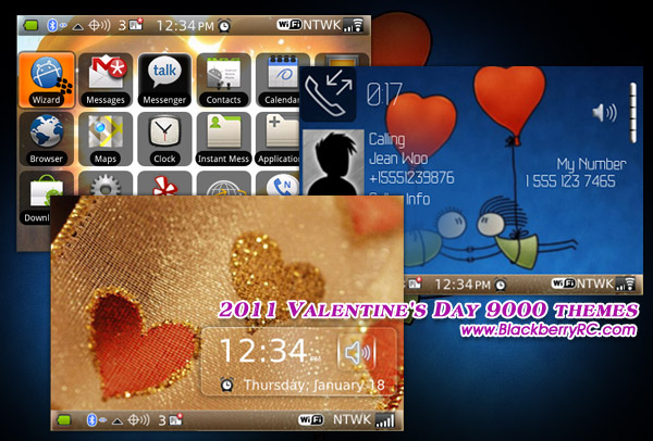 2011 Valentines Day 9000 themes os5.0