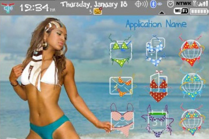 Cool Bikini for Bold 9000 Themes