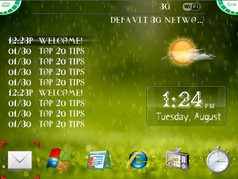 Full Screen themes Vista icons