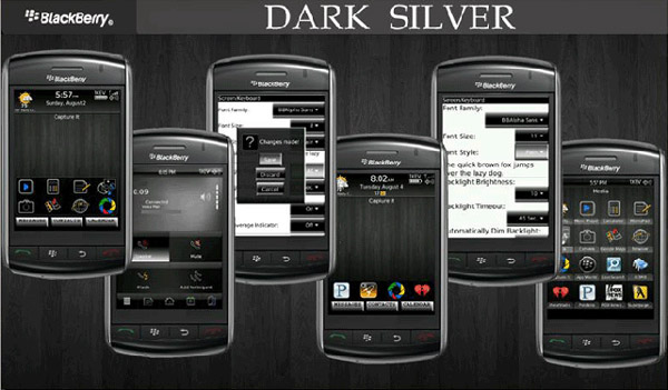Dark Silver for 95xx themes