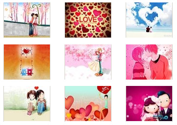 2.14 Valentines Day 320x240 wallpapers pack