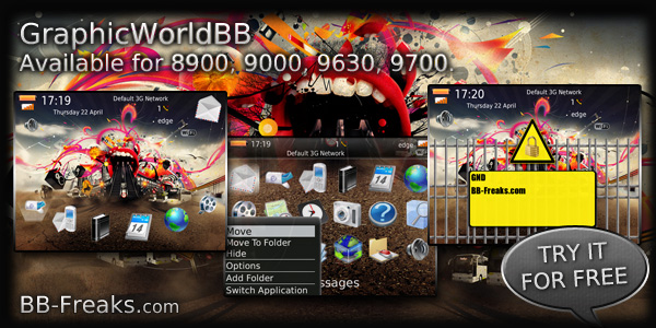 GraphicWorld - 9000 bold themes