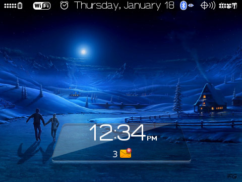 Fel-X for blackberry 9700 bold themes