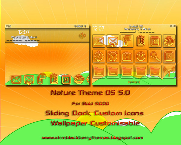 Nature for blackberry Bold 9000 themes