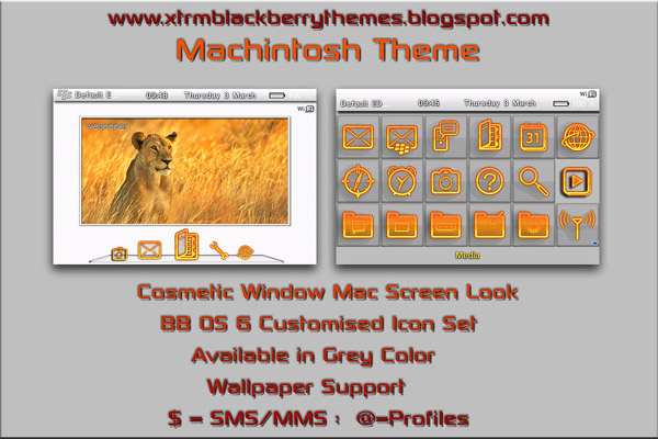 Macintosh Themes for 9700,9000