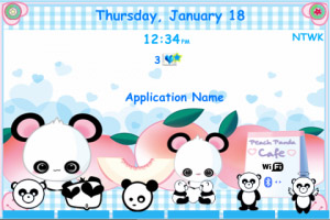 Panda for bold 9000 os4.6 Themes