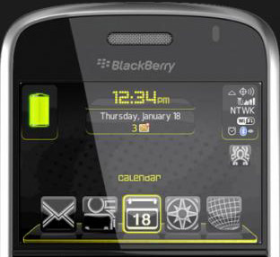 Muzik Blackberry Bennu themes