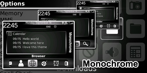Monochrome for 87xx os4.2 themes