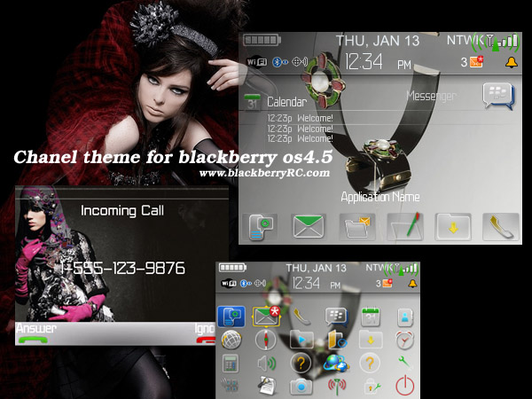 Chanel 87xx theme for blackberry