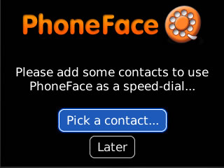 PhoneFace Photo Speed Dialer v1.2.2