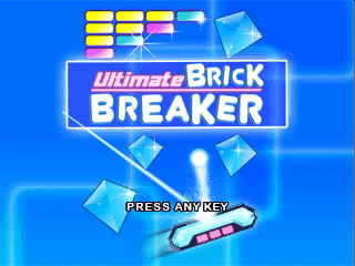 Playing brickbreaker game on blackberry curve 9320/curve 9220.