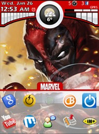Deadpool for 9800 Torch themes
