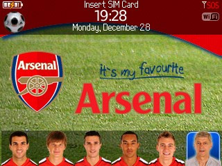 free Arsenal for 8520 themes download