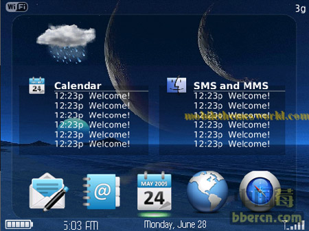 HTC hero Dock for 89xx,96xx,97xx themes
