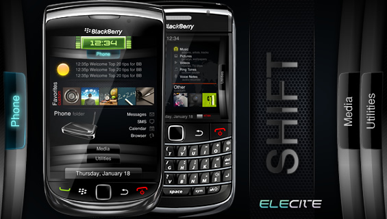 Shift from Elecite Themes 9800