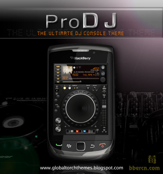 PRO DJ themes for torch 9800