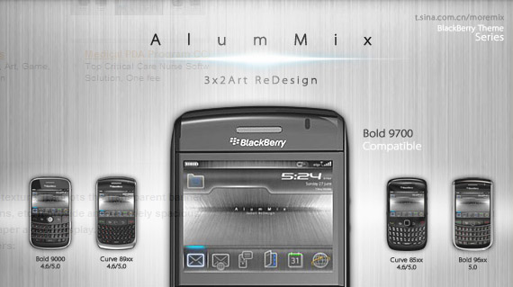 AlumMix Lite for 96xx,9700 themes