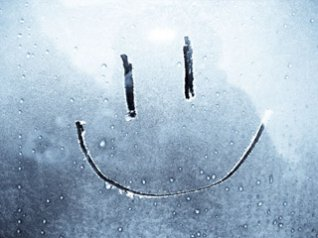 Hd glass drops smiling face wallpaper