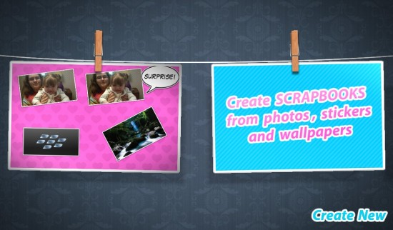 <b>Free Scrapbook for BlackBerry PlayBook Apps</b>