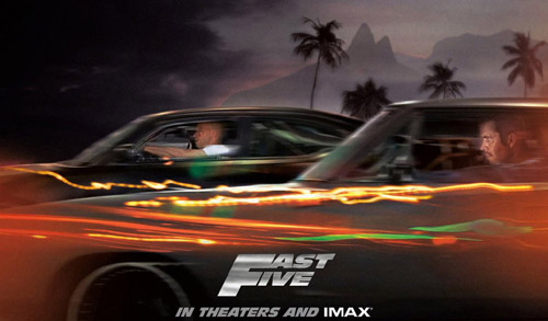 Fast Five (2011) for playbook wallpapers