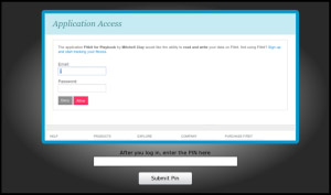 free Fitbit v1.1.0 for BlackBerry PlayBook